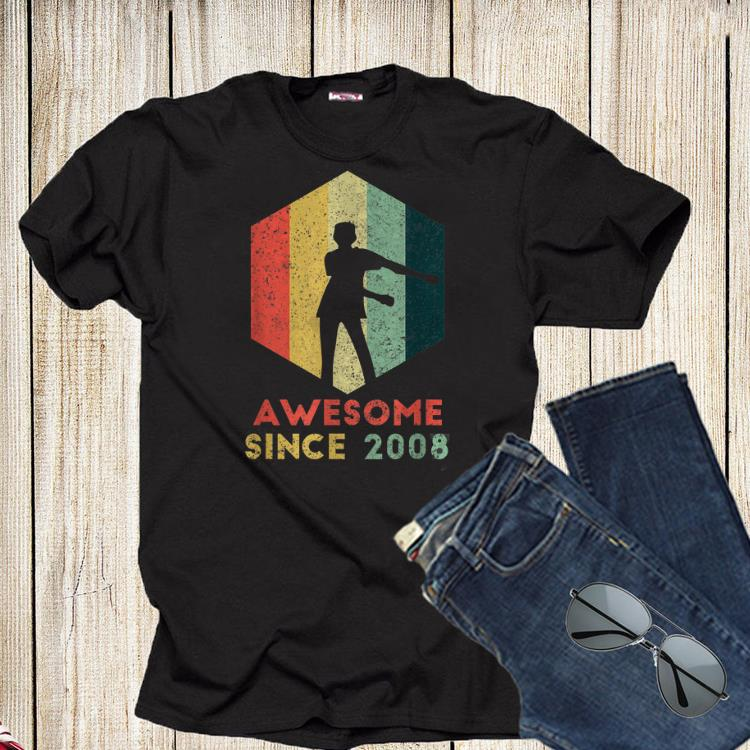 Vintage Floss Dance Awesome Since 2008 Shirt