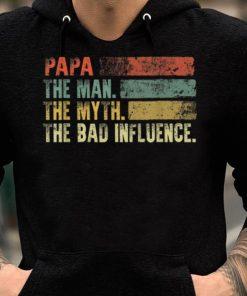 Vintage Papa the Man the Myth the Bad Influence shirt 2 1 247x296 - Vintage Papa the Man the Myth the Bad Influence shirt