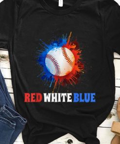 4th July Red White Blue Baseball Splash Usa Patriot shirt 1 1 247x296 - 4th July Red White Blue Baseball Splash Usa Patriot shirt