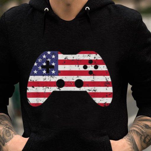 4th Of July Usa Flag Video Game Gamer Boys Gift sjirt 2 1 510x510 - 4th Of July Usa Flag Video Game Gamer Boys Gift sjirt