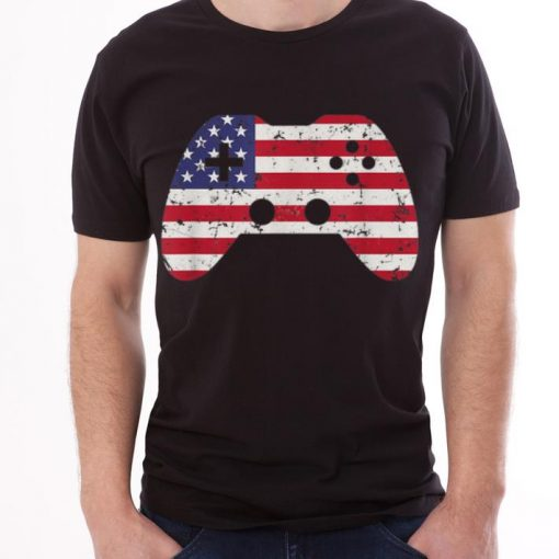 4th Of July Usa Flag Video Game Gamer Boys Gift sjirt 3 1 510x510 - 4th Of July Usa Flag Video Game Gamer Boys Gift sjirt