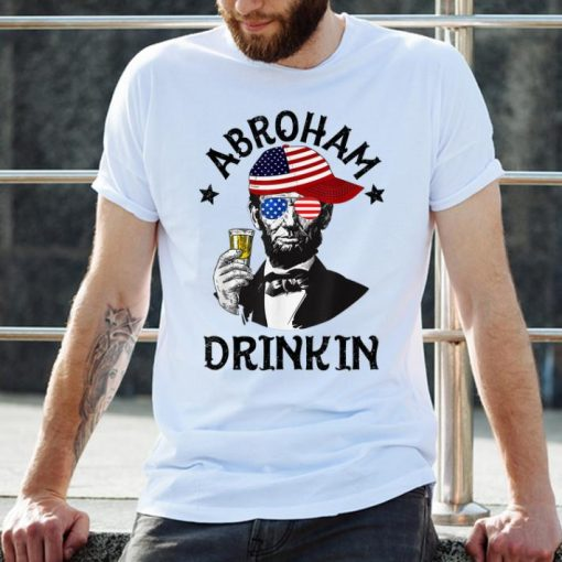Abroham Drinking Lincoln 4th Of July shirt 2 1 510x510 - Abroham Drinking Lincoln 4th Of July shirt