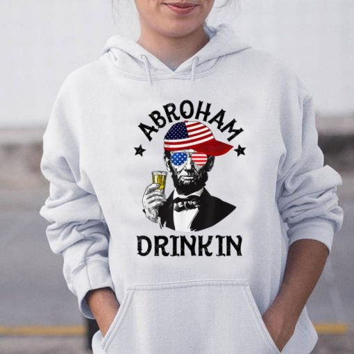 Abroham Drinking Lincoln 4th Of July shirt 3 1 510x510 - Abroham Drinking Lincoln 4th Of July shirt