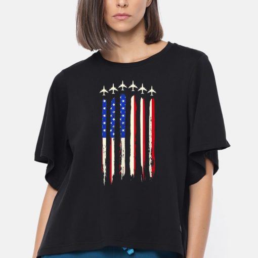 Air Force Flyover 4th Of July Independence Day American Flag shirt 3 1 510x510 - Air Force Flyover 4th Of July Independence Day American Flag shirt