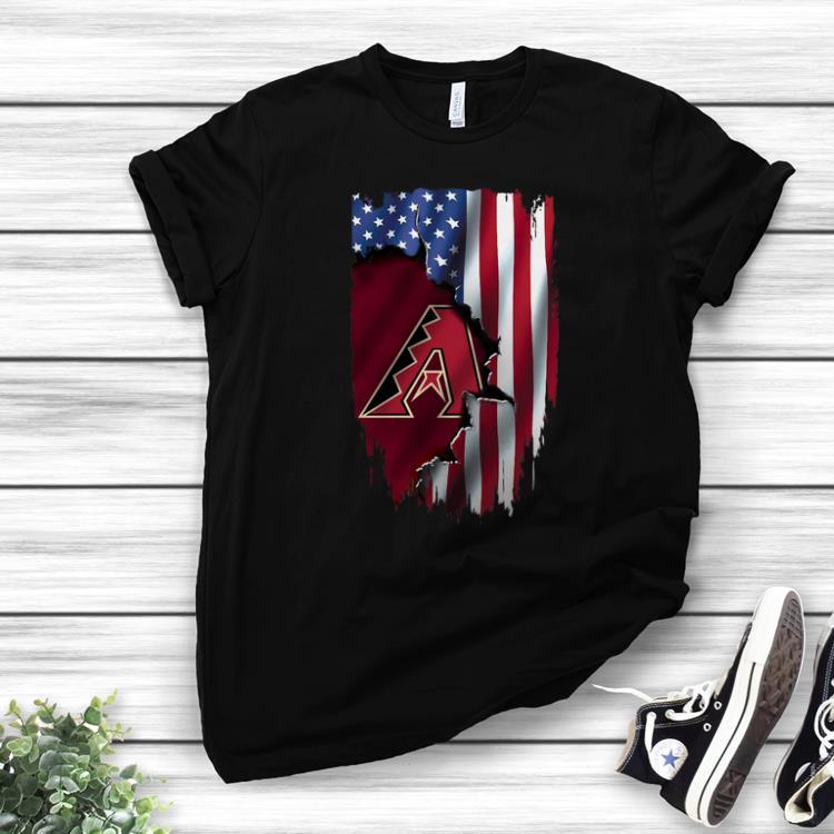 American Flag Arizona Diamondbacks MLB