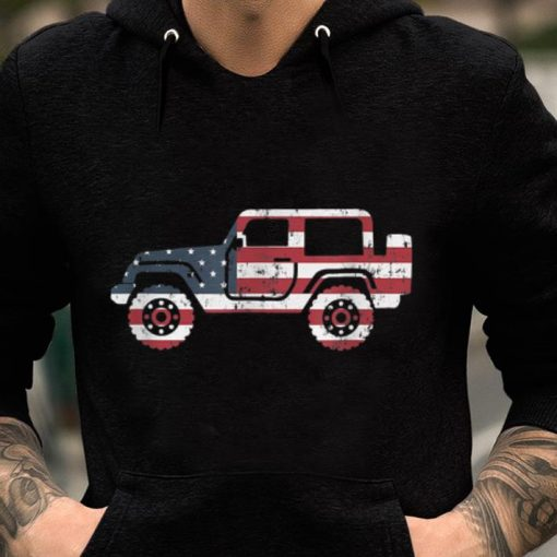 American Flag Jeep 4th Of July Jeep Gifts Tee shirt 2 1 510x510 - American Flag Jeep, 4th Of July Jeep Gifts Tee shirt