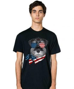 American Flag Schnauzer Patriotic 4th Of July shirt 2 1 247x296 - American Flag Schnauzer Patriotic 4th Of July shirt