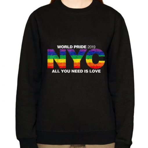 Awesome 2019 NYC World Pride All You Need Is Love shirt 3 1 510x510 - Awesome 2019 NYC World Pride All You Need Is Love shirt