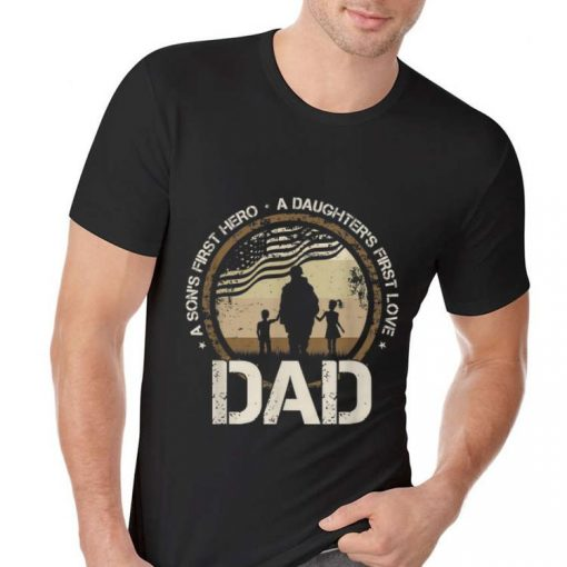 Awesome A Son s First Hero A Daughter s First Love Dad Veteran American Flag shirt 2 2 1 510x510 - Awesome A Son's First Hero A Daughter's First Love Dad Veteran American Flag shirt