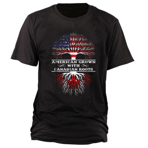 Awesome American Grown With Canadian Roots shirt 1 1 510x510 - Awesome American Grown With Canadian Roots shirt