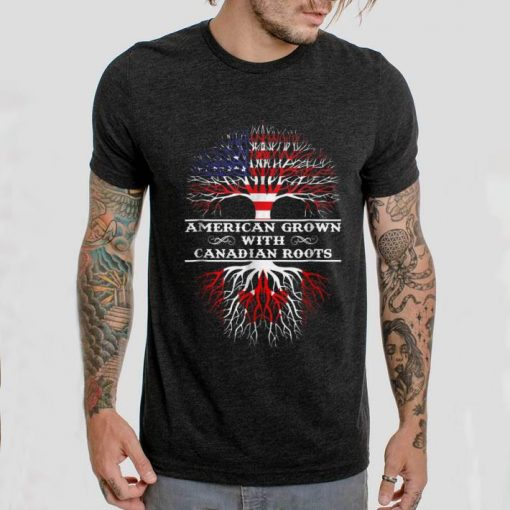 Awesome American Grown With Canadian Roots shirt 2 1 510x510 - Awesome American Grown With Canadian Roots shirt