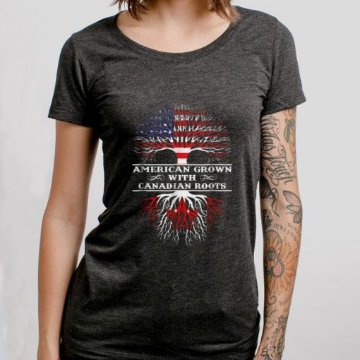 Awesome American Grown With Canadian Roots shirt 3 1 510x510 - Awesome American Grown With Canadian Roots shirt