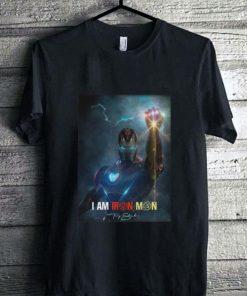 Awesome I am Iron Man signature Avengers Endgame potter shirt 1 1 247x296 - Awesome I am Iron Man signature Avengers Endgame potter shirt