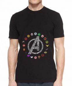 Awesome Marvel Avengers Endgame symbol all character shirt 2 1 247x296 - Awesome Marvel Avengers Endgame symbol all character shirt