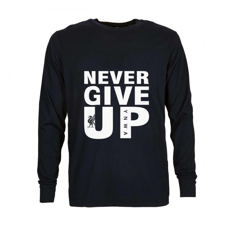 Awesome Mohamed Salah Never give up shirt