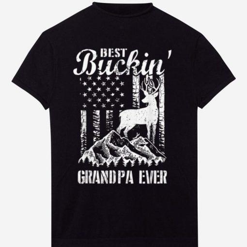 Best Buckin Grandpa Ever Deer Hunting Fathers Day Gift shirt 1 1 510x510 - Best Buckin Grandpa Ever Deer Hunting Fathers Day Gift shirt