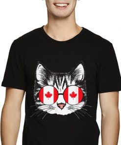 Canada Flag Glasses Funny Canadian Cat For shirt 2 1 247x296 - Canada Flag Glasses Funny Canadian Cat For shirt