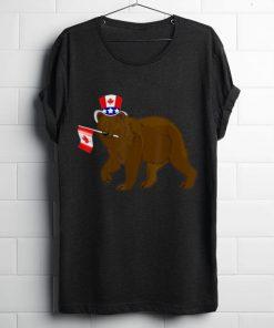 Canada Maple Leaf Bear Canadian Flags shirt 1 1 247x296 - Canada - Maple Leaf Bear Canadian Flags shirt