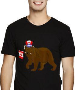 Canada Maple Leaf Bear Canadian Flags shirt 2 1 247x296 - Canada - Maple Leaf Bear Canadian Flags shirt