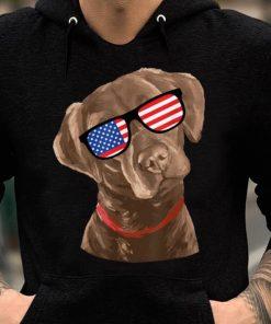 Chocolate Labrador American Flag 4th Of July shirt 2 1 247x296 - Chocolate Labrador American Flag 4th Of July shirt