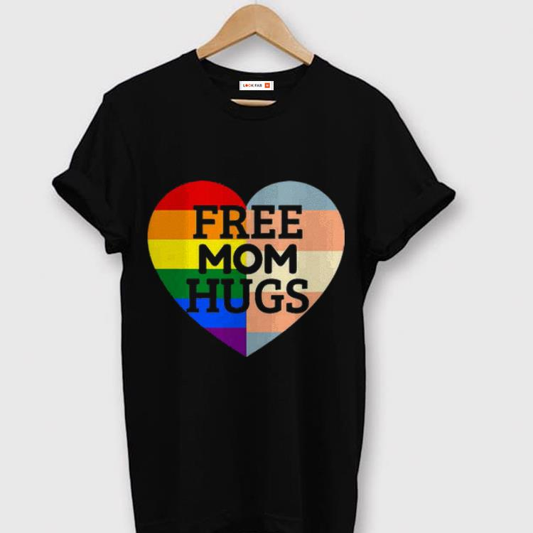Free Mom Hugs Pride shirt