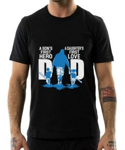 Funny A son s first hero dad a daughter s first love shirt 2 1 247x296 - Funny A son's first hero dad a daughter's first love shirt