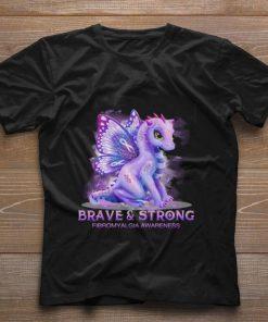 Funny Dragon Brave strong Firbromyalgia Awareness shirt 1 1 247x296 - Funny Dragon Brave & strong Firbromyalgia Awareness shirt