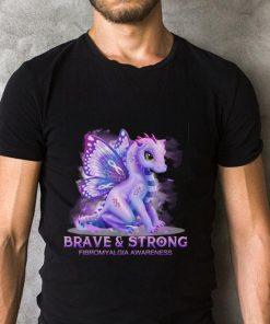 Funny Dragon Brave strong Firbromyalgia Awareness shirt 2 1 247x296 - Funny Dragon Brave & strong Firbromyalgia Awareness shirt