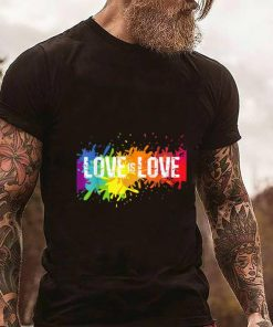 Funny Gay Pride Love is Love LGBT Rainbow Flag Colors Splash shirt 2 1 247x296 - Funny Gay Pride Love is Love LGBT Rainbow Flag Colors Splash shirt