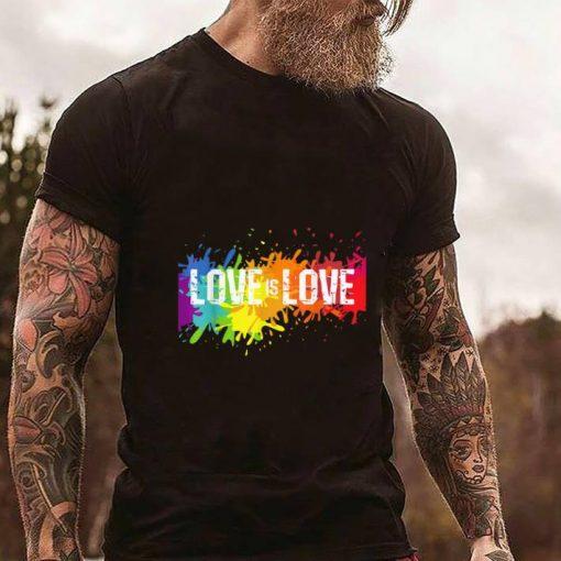 Funny Gay Pride Love is Love LGBT Rainbow Flag Colors Splash shirt 2 1 510x510 - Funny Gay Pride Love is Love LGBT Rainbow Flag Colors Splash shirt