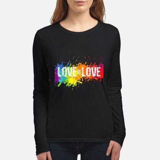 Funny Gay Pride Love is Love LGBT Rainbow Flag Colors Splash shirt 3 1 510x510 - Funny Gay Pride Love is Love LGBT Rainbow Flag Colors Splash shirt