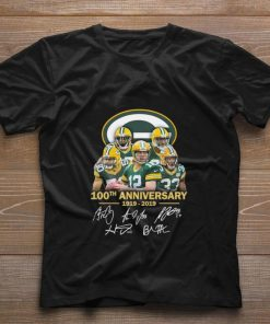 Funny Green Bay Packers 100th anniversary 1919 2019 signatures shirt 1 1 247x296 - Funny Green Bay Packers 100th anniversary 1919-2019 signatures shirt