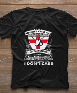 Funny I am a grumpy veteran my oath of enlistment has no expiration date shirt 1 1 247x296 - Funny I am a grumpy veteran my oath of enlistment has no expiration date shirt
