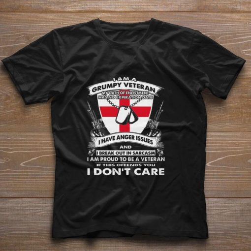 Funny I am a grumpy veteran my oath of enlistment has no expiration date shirt 1 1 510x510 - Funny I am a grumpy veteran my oath of enlistment has no expiration date shirt