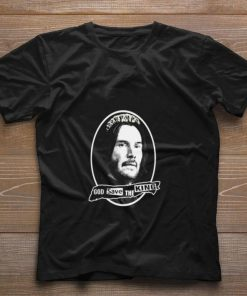 Funny John Wick God save the king Reeves shirt 1 1 1 247x296 - Funny John Wick God save the king Reeves shirt