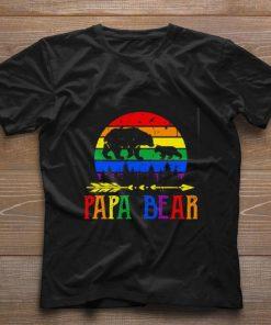 Funny LGBT papa bear shirt 1 1 247x296 - Funny LGBT papa bear shirt