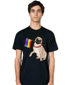 Gay Pride Flag Pug LGBT Pride shirt 2 1 247x296 - Gay Pride Flag Pug - LGBT Pride shirt