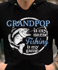 Grandpop Is My Name fishing Is My game Fisherman shirt 2 1 247x296 - Grandpop Is My Name fishing Is My game Fisherman shirt
