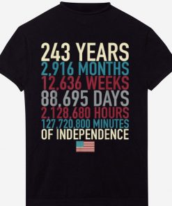 Hot 4th Of July Flag 243 Years Time Of The Independence shirt 1 1 247x296 - Hot 4th Of July Flag 243 Years Time Of The Independence shirt