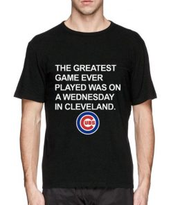 Hot Chicago Cubs The greatest game ever played was on a wednesday in cleveland shirt 2 1 247x296 - Hot Chicago Cubs The greatest game ever played was on a wednesday in cleveland shirt