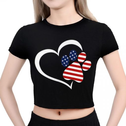 Hot Dog Paw Hear Love Red White Blue American Flag Patriotic shirt 3 1 510x510 - Hot Dog Paw Hear Love Red White Blue American Flag Patriotic shirt
