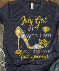 Hot July Girl I Am Who I Am Your Approval Isn t Needed Diamond shirt 1 1 247x296 - Hot July Girl I Am Who I Am Your Approval Isn't Needed Diamond shirt