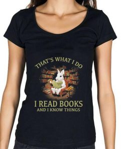 Hot Rabbit that s what i do i read books and i know things shirt 1 1 247x296 - Hot Rabbit that's what i do i read books and i know things shirt