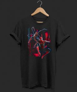 Marvel Infinity War Spider man Suit Tech Graphic shirt 1 1 247x296 - Marvel Infinity War Spider-man Suit Tech Graphic shirt