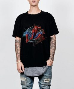 Marvel Spider man Broken Glass Web Leap Graphic shirt 2 1 247x296 - Marvel Spider-man Broken Glass Web Leap Graphic shirt