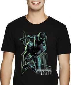 Marvel Spider man Far From Home Stealth Suit Swing Poster shirt 2 1 247x296 - Marvel Spider-man Far From Home Stealth Suit Swing Poster shirt
