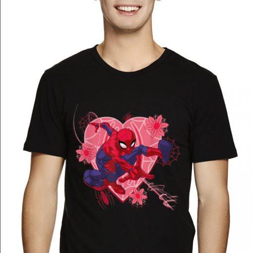 Marvel Spider man Hearts And Flowers Valentine s Day shirt 2 1 510x510 - Marvel Spider-man Hearts And Flowers Valentine's Day shirt