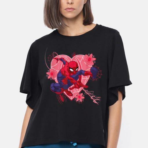 Marvel Spider man Hearts And Flowers Valentine s Day shirt 3 1 510x510 - Marvel Spider-man Hearts And Flowers Valentine's Day shirt