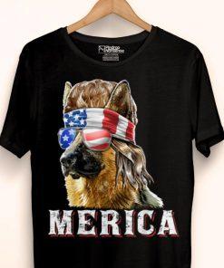 Merica German Shepherd Mullet July 4th American Flag shirt 1 1 247x296 - Merica German Shepherd Mullet July 4th American Flag shirt