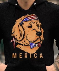 Merica Golden Retriever Patriotic Funny Fourth Of July Dog shirt 2 1 247x296 - Merica Golden Retriever - Patriotic Funny Fourth Of July Dog shirt